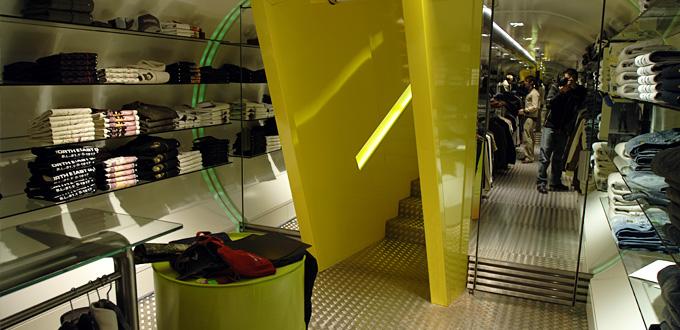 réalisation magasin